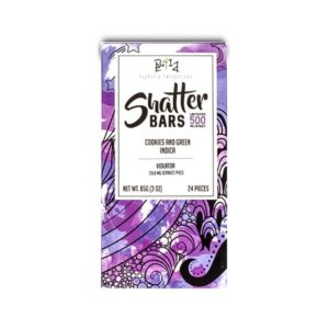 1520468615 Cookies and Green Indica 500mg Shatter Bar