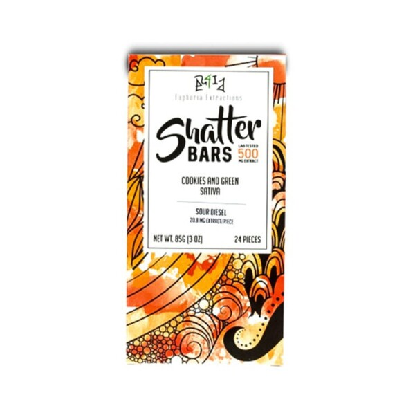 1520468665 Cookies and Green Sativa 500mg Shatter Bar