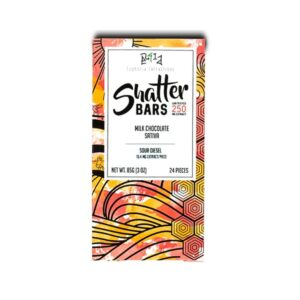 1520468781 Milk Chocolate Sativa 250mg Shatter Bar