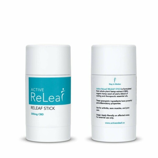 49630190 Active Releaf stick cooling  creme cbd rubs aching muscles sore Mr Feelgood Delivery dispensary Ontario Mississauga  GTA Kitchener Cambridge Waterloo