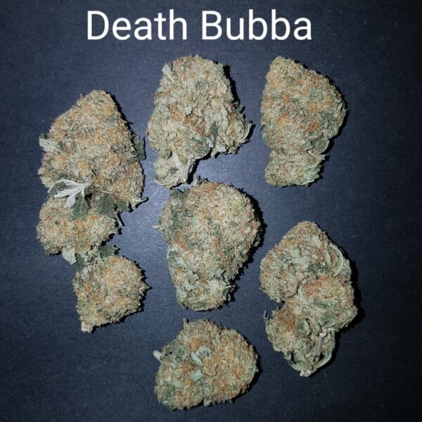 86527077 Death Bubba  AAAA Quad Strain Weed Bud Dispensary weedmaps Canna West CannaWest Toronto GTA Greater Area Etobicoke North East York Downtown cannabis special delivery