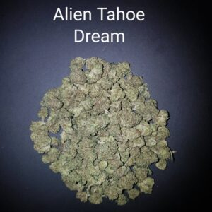 87236577 Alien Tahoe Dream AAAA Quad strain Weed Bud Dispensary weedmaps Canna West CannaWest Toronto GTA Greater Area Etobicoke North East York Downtown cannabis special delivery
