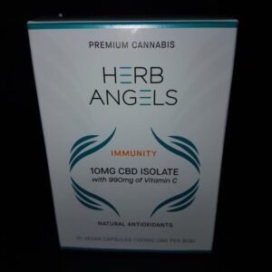99904034 Herb Angels Immunity 10MG CBD Isolate with 990MG of Vitamin C